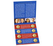 Presidential 2015 One Dollar Coin Uncirculated Set