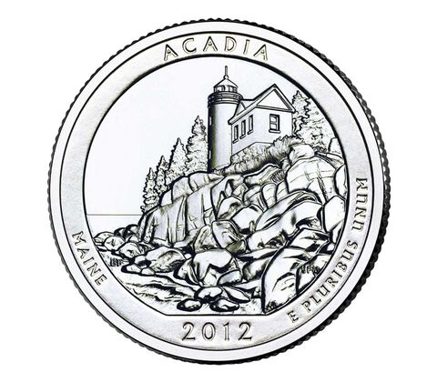Acadia National Park 2012 Quarter, 3-Coin Set,  image 3