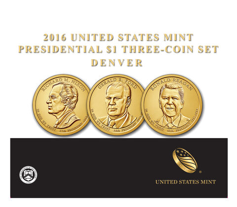 Presidential $1 Three-Coin Set Enrollment,  image 1