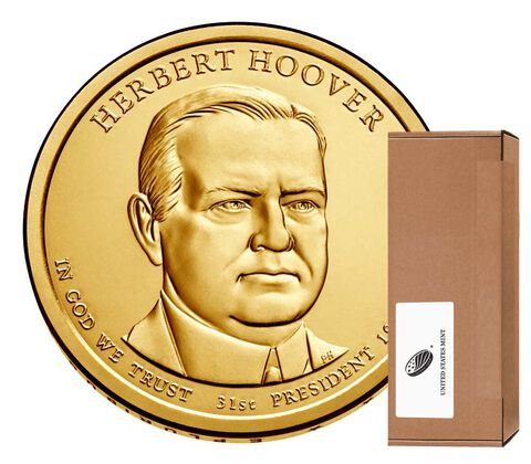 Herbert Hoover Presidential 2014 Rolls, Bags and Boxes