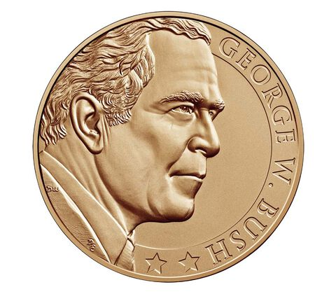 George W. Bush (Second Term) Bronze Medal 1 5/16 Inch