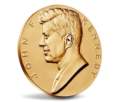 John F. Kennedy Bronze Medal 3 Inch,  image 3