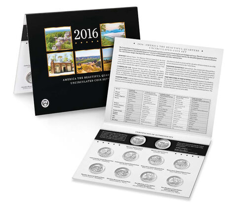 America the Beautiful Quarters Uncirculated Coin Set Enrollment,  image 3