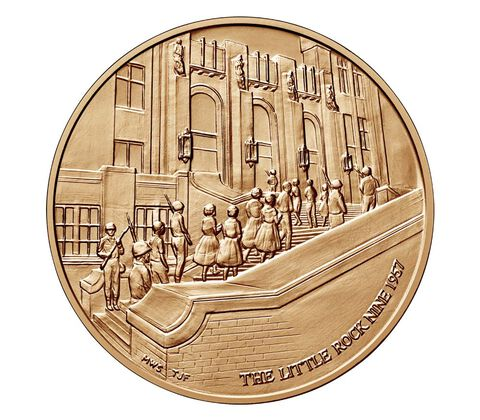 Little Rock Nine Bronze Medal 1.5 Inch