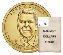 Presidential $1 Coin 100-Coin Bag Enrollment
