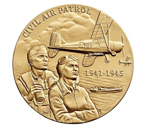 Civil Air Patrol Bronze Medal 1.5 Inch