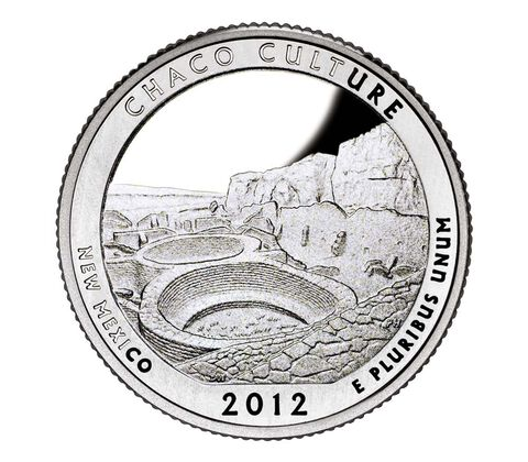 Chaco Culture National Historical Park 2012 Quarter, 3-Coin Set,  image 2