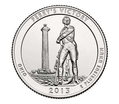 Perry%27s Victory and International Peace Memorial 2013 Quarter, 3-Coin Set,  image 4