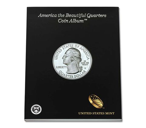 America the Beautiful Quarters Album,  image 1