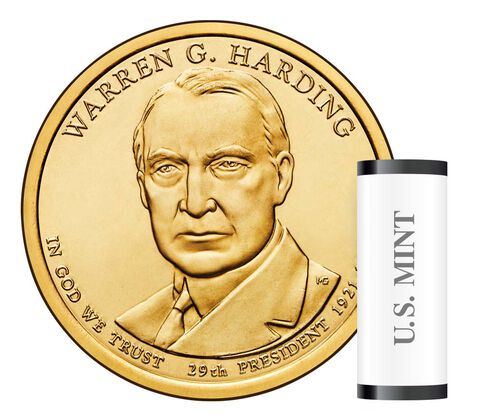 Warren G. Harding Presidential 2014 Rolls, Bags and Boxes