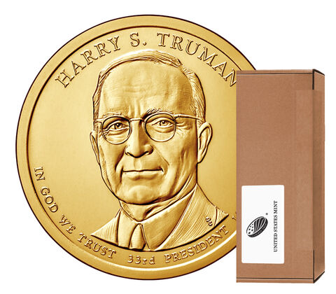 Harry S. Truman Presidential 2015 Rolls, Bags and Boxes