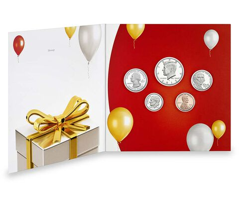 Happy Birthday Coin Set 2013