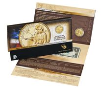 American $1 Coin and Currency Set