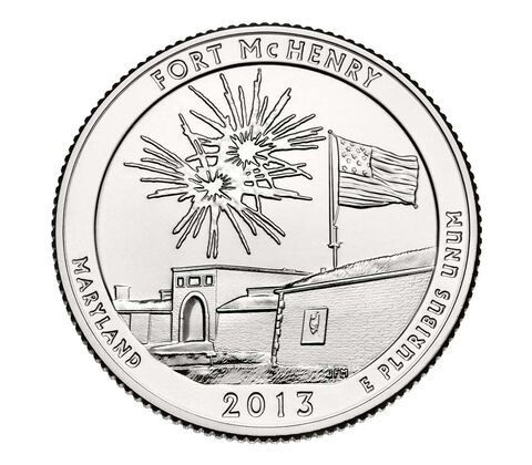 Fort McHenry National Monument and Historic Shrine 2013 Quarter, 3-Coin Set,  image 4