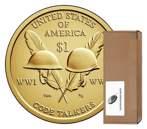 Native American $1 Coin 250-Coin Box Enrollment