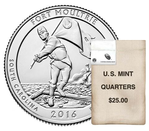 America the Beautiful Quarters 100-Coin Bag Enrollment,  image 1