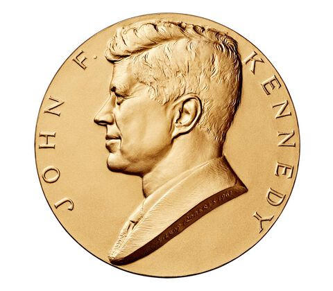 John F. Kennedy Bronze Medal 3 Inch,  image 1
