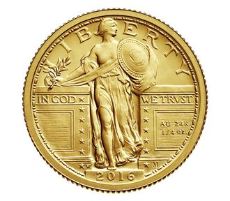 Standing Liberty 2016 Centennial Gold Coin