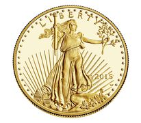 American Eagle 2015 One Ounce Gold Proof Coin