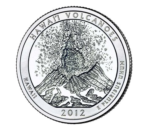 Volcanoes National Park 2012 Quarter, 3-Coin Set,  image 3