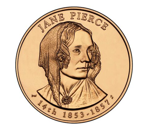 Jane Pierce 2010 Bronze Medal 1 5/16 Inch