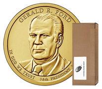 Presidential $1 Coin 250-Coin Box Enrollment