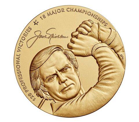 Jack Nicklaus Bronze Medal 3 Inch