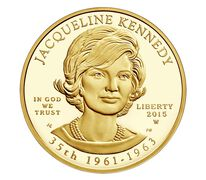 Jacqueline Kennedy 2015 First Spouse Series One-Half Ounce Gold Proof Coin