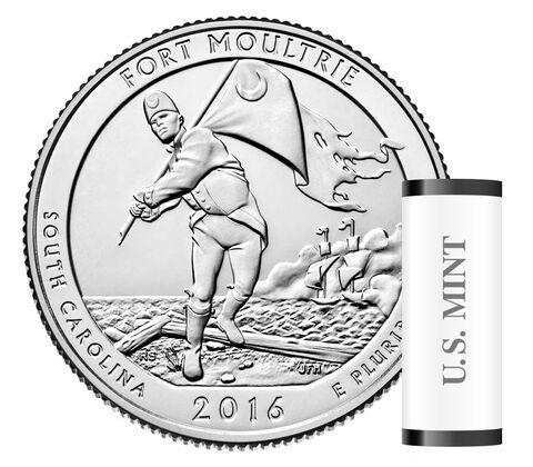 America the Beautiful Quarters 40-Coin Roll Enrollment