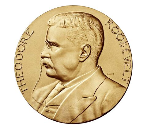 Theodore Roosevelt Bronze Medal 3 Inch