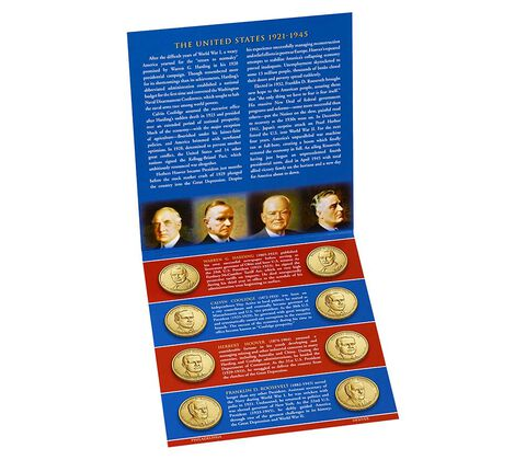 Presidential 2014 One Dollar Coin Uncirculated Set,  image 1
