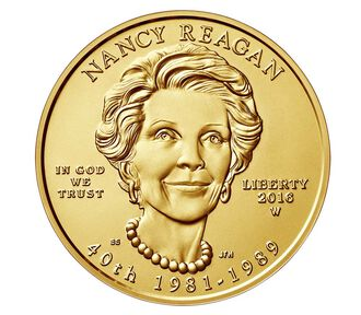 Nancy Reagan 2016 First Spouse Series One-Half Ounce Gold Uncirculated Coin