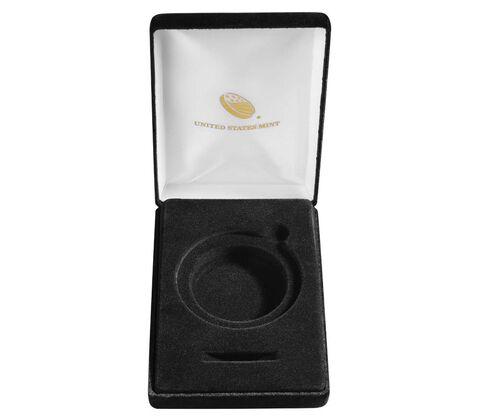 Black Presentation Case for 3%22 Medal,  image 2