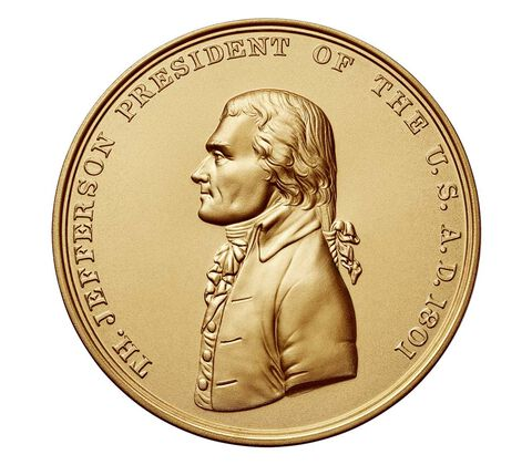 Thomas Jefferson Bronze Medal 3 Inch