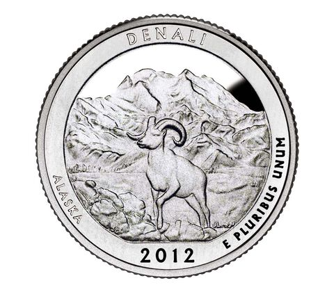 Denali National Park and Preserve 2012 Quarter, 3-Coin Set,  image 2
