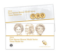 First Spouse Bronze Medal Series Three Medal Set Enrollment