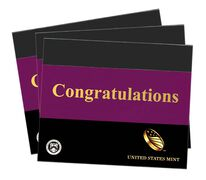 Congratulations Gift Sleeves, Three-Lens Three-Pack