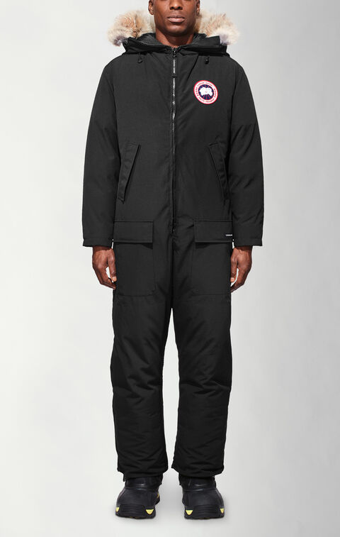 Arctic Rigger Coverall Black