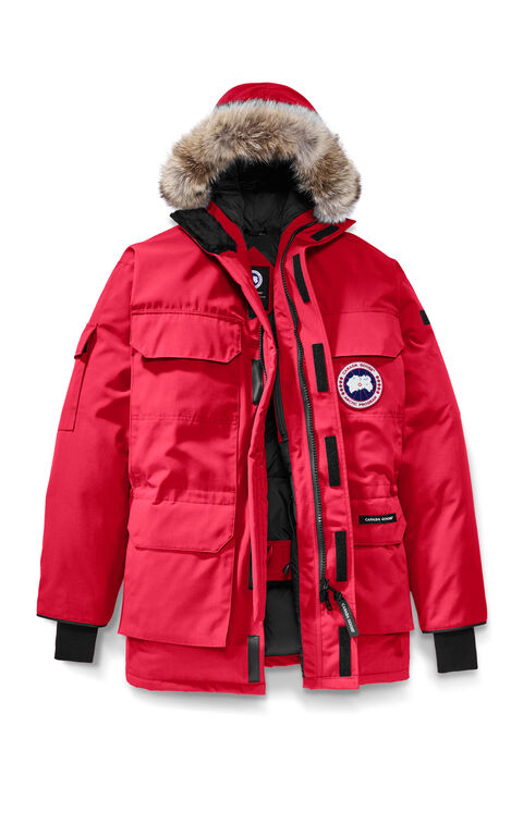 Expedition Parka Red