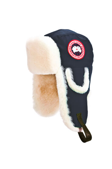 Arctic Tech Shearling Pilot Hat