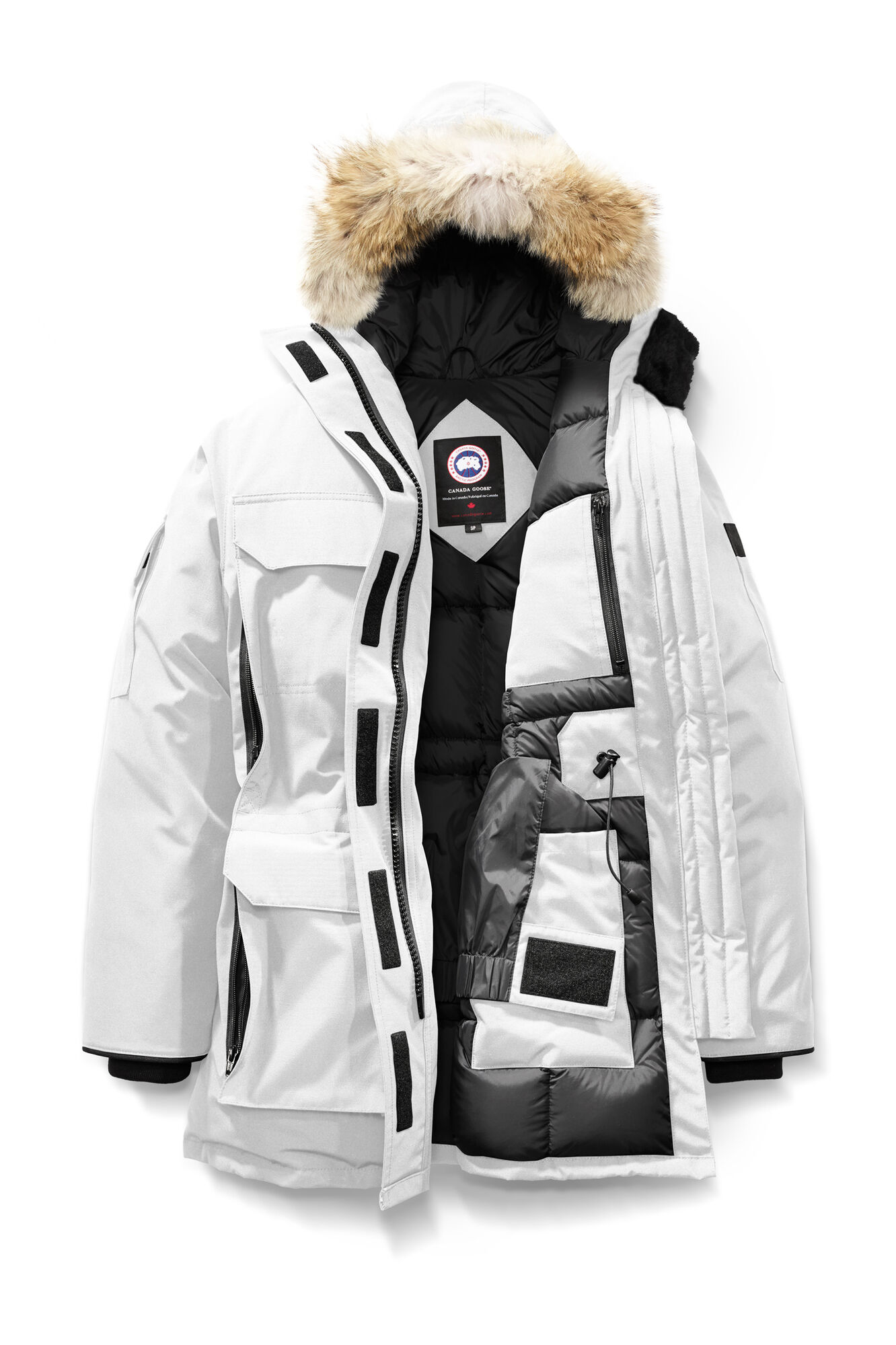 canada goose expedition parka temperature