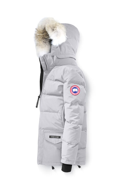 canada goose victoria parka light grey