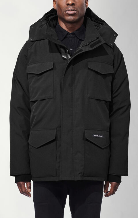 Constable Parka Black