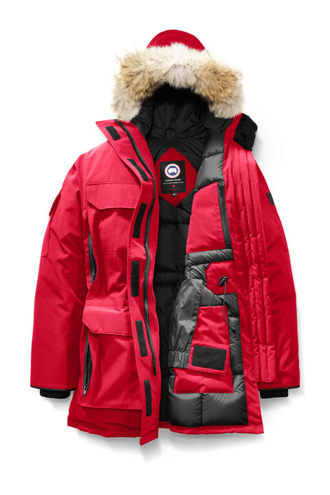 Authentic Canada Goose' Expedition Parka 4565l Red Womens Coat Tei-5