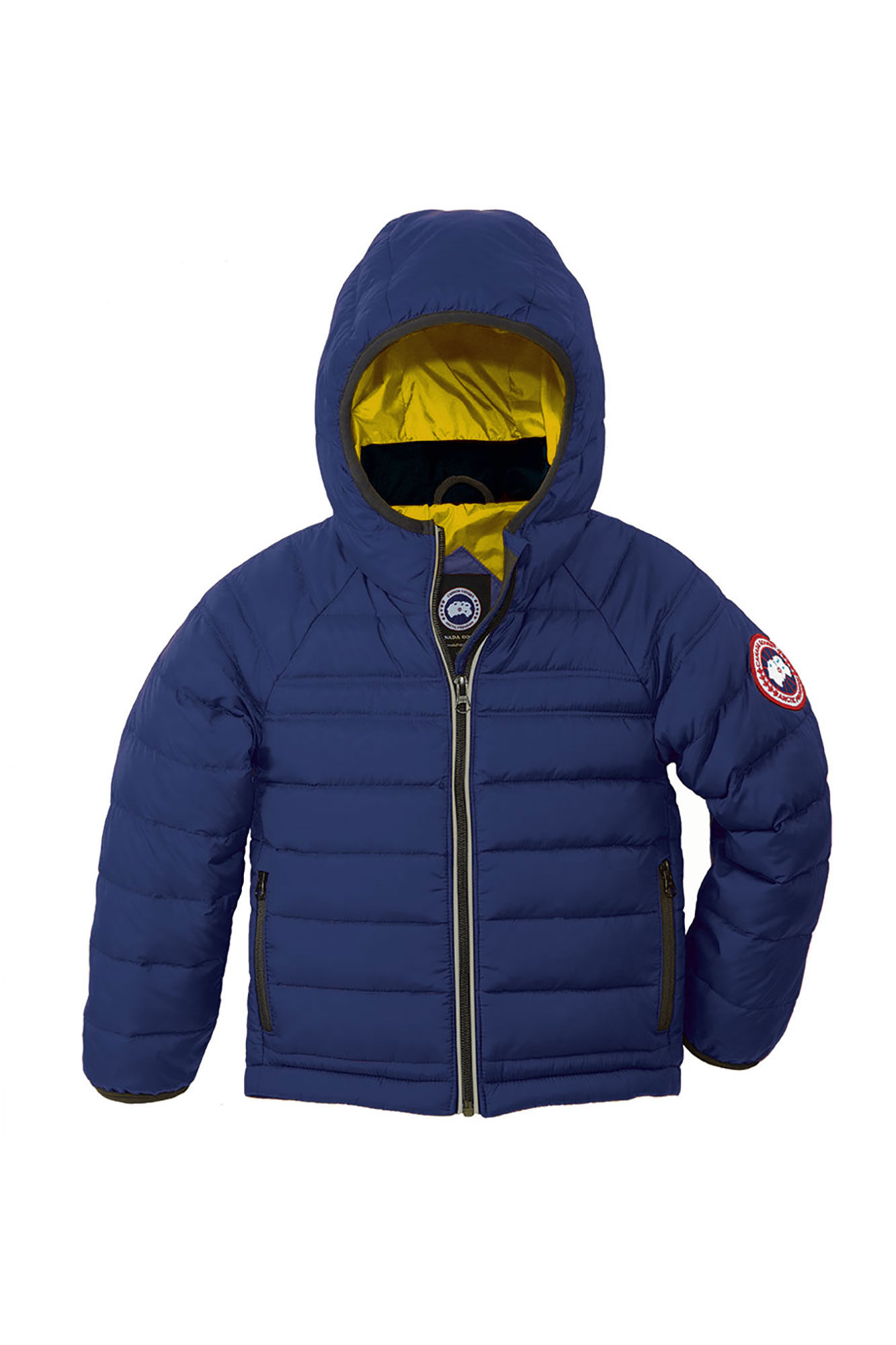 Canada Goose' Green 'Grizzly Bomber' Down Padded Jacket 2-3 year