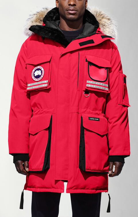 Snow Mantra Parka Red