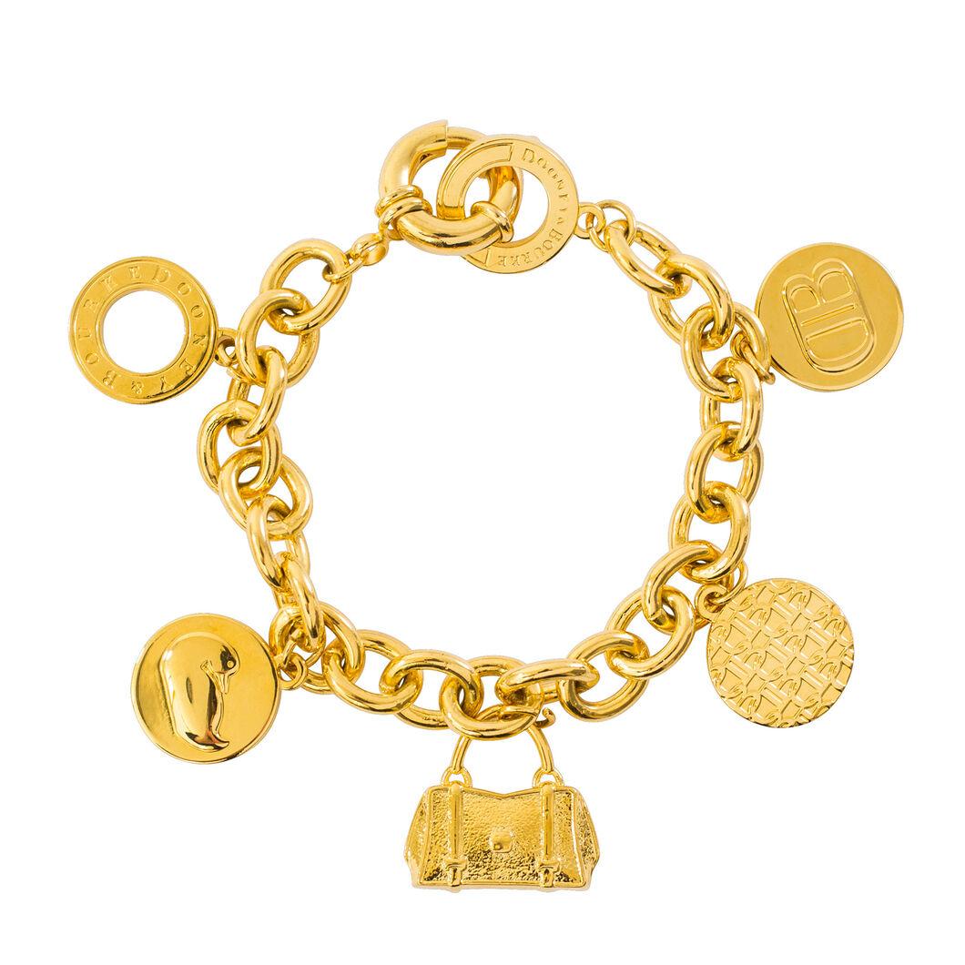 dooney bourke jewelry signature charm bracelet