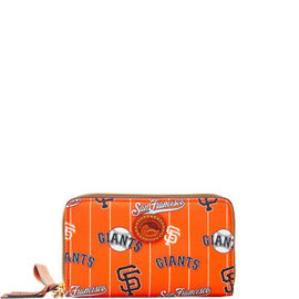 Giants Zip Around Phone Wristlet