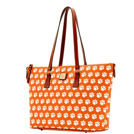Clemson Zip Top Shopper