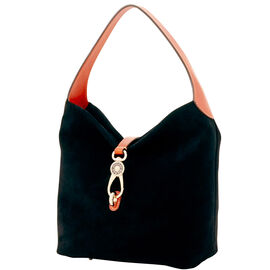 Small Logo Lock Shoulder Bag